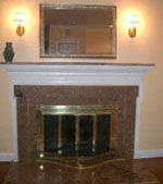 fireplace surrounds fredericksburg va